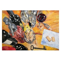 WINE, CORKS & CELLAR KEY by...