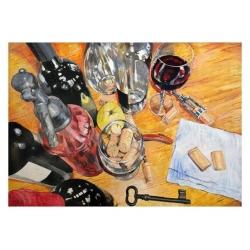WINE, CORKS & CELLAR KEY by...