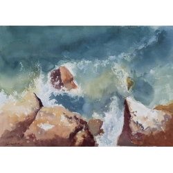 MEDITERRANEAN WAVE (I) by Inna Davidovich