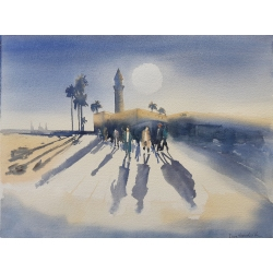 CAESAREA SHADOWS by Inna Davidovich