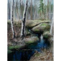 FOREST STREAM by Edita Ter-Balyan