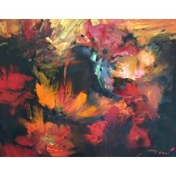 RED FLOWERS by Ilya Danshin