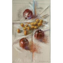 Pomegranates and Dates I by...