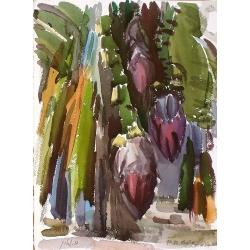 Banana Flowers by Polina Levin