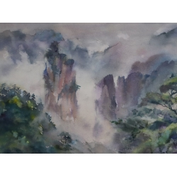 Wulingyuan Mountains II by...
