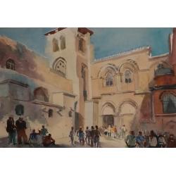 Jerusalem by Tatiana Ilitzky