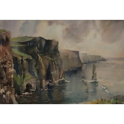 Irelands.Cliffs Of Moher 36X24