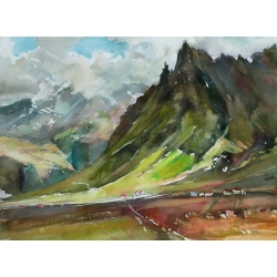 Sunny Iceland by Piter ilitzky