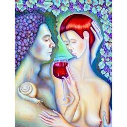Wine Nose by Tanya Davi
