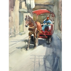 Horse-Driver from Acco by...