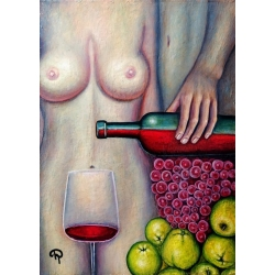 Green Apples by Tanya Davi