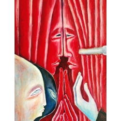 Jazz or Curtains in Love by Tanya Davi