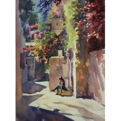 Ein Karem Lane by Tatiana...