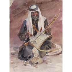 An Old Musician From Petra...