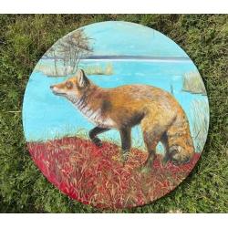 The Fox by Onute Juskiene