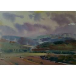 Piter Ilitzky. Watercolor...