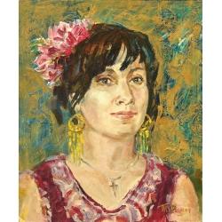 SPANISH WOMAN by Tatiana Rymorenko