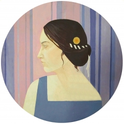GIRL WITH A BROOCH by Polina Samojlova