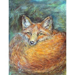 A FOX by Larisa Jociene