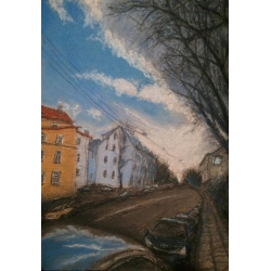 NAUGARDUKO STREET OR THE CLOUD by Marina Tregubova