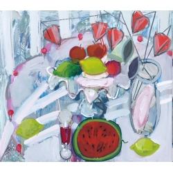 WATERMELON STILL LIFE by...