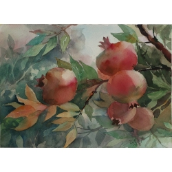 POMEGRANATE TREE by Tatiana...