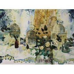 VENETIAN STILL LIFE by Anna Sidorina