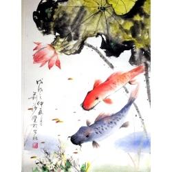 RED FISH by Lisa Zaretskaya