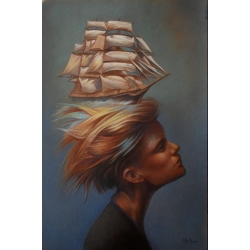 SAILING SHIP by Tamas Potyok